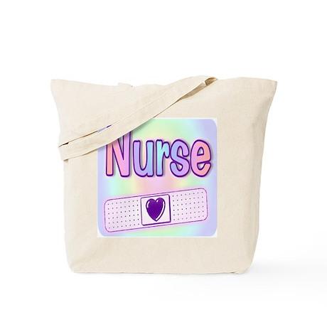 Nurse Rainbow Band-Aid Tote Bag