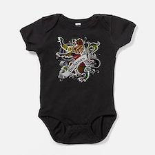 Buchanan Tartan Lion Baby Bodysuit