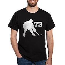 Hockey Player Number 73 T-Shirt