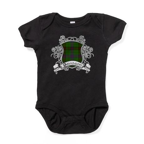 Davidson Tartan Shield Baby Bodysuit