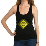 watchforfallingrocks2.png Racerback Tank Top
