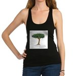 shadetreesaying.png Racerback Tank Top