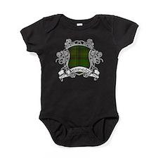 Kennedy Tartan Shield Baby Bodysuit