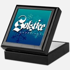 Solstice Greetings Keepsake Box
