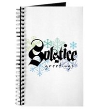 Solstice Greetings Journal