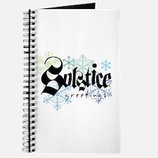 Solstice Greetings Journal
