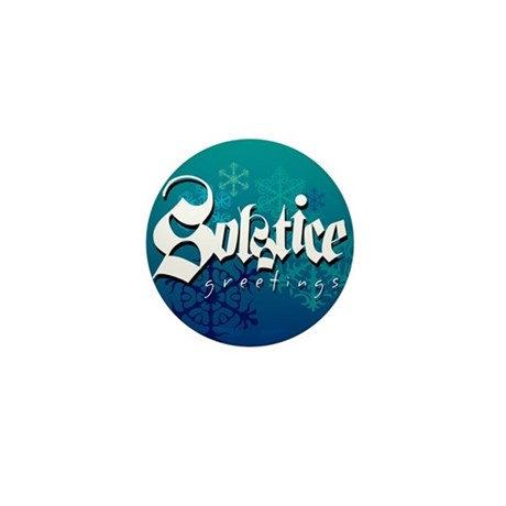 Solstice Greetings Mini Button (100 pack)