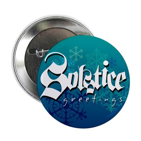 "Solstice Greetings 2.25"" Button (10 pack)"