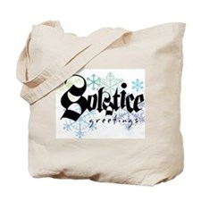 Solstice Greetings Tote Bag