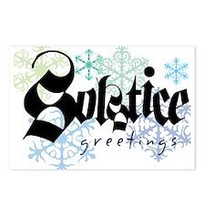 Solstice Greetings Postcards (Package of 8)