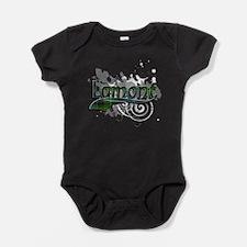 Lamont Tartan Grunge Baby Bodysuit