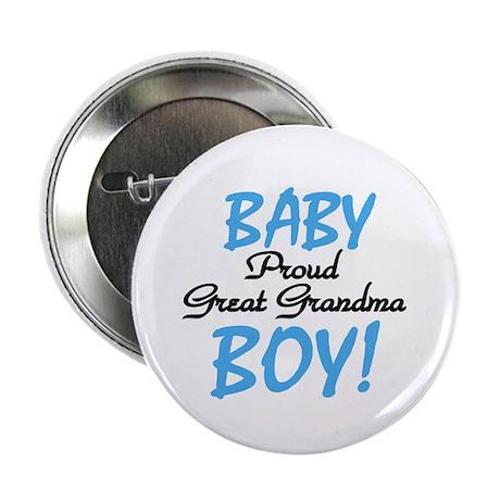 Baby Boy Great Grandma Button