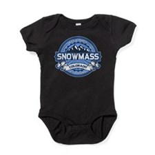 Snowmass Blue Baby Bodysuit