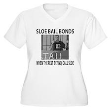 Sloe Bail Bonds Plus Size T-Shirt