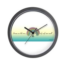 Affirmative: Dreamtree Wall Clock