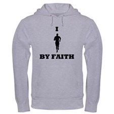 I Run By Faith Hoodie