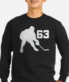 Hockey Player Number 63 T
