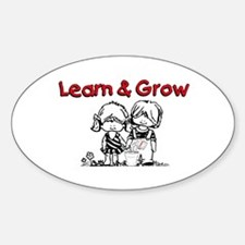 Learn & Grow Childcare Decal