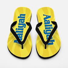 Aaliyah Sunburst Flip Flops