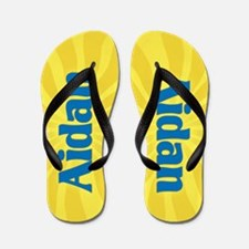 Aidan Sunburst Flip Flops