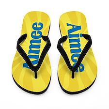 Aimee Sunburst Flip Flops
