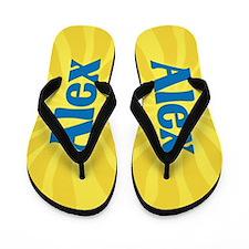 Alex Sunburst Flip Flops
