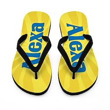 Alexa Sunburst Flip Flops