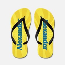 Alexander Sunburst Flip Flops