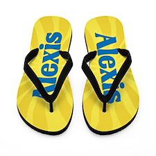 Alexis Sunburst Flip Flops