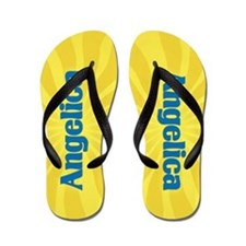 Angelica Sunburst Flip Flops