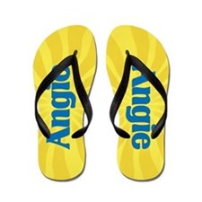 Angie Sunburst Flip Flops