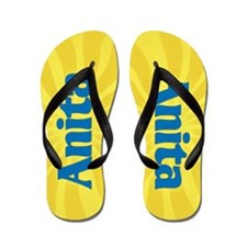 Anita Sunburst Flip Flops
