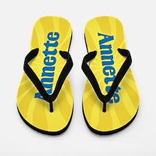Annette Sunburst Flip Flops