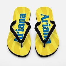 Ariana Sunburst Flip Flops