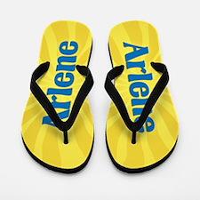 Arlene Sunburst Flip Flops