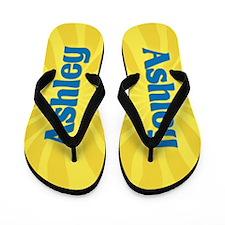 Ashley Sunburst Flip Flops