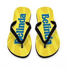 Belinda Sunburst Flip Flops