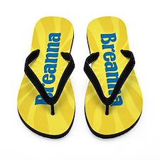 Breanna Sunburst Flip Flops