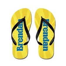 Brendan Sunburst Flip Flops