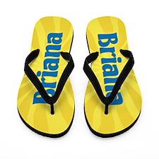 Briana Sunburst Flip Flops