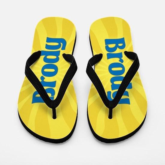 Brody Sunburst Flip Flops