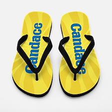 Candace Sunburst Flip Flops