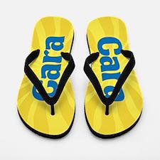 Cara Sunburst Flip Flops