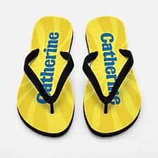 Catherine Sunburst Flip Flops