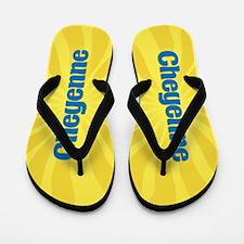 Cheyenne Sunburst Flip Flops