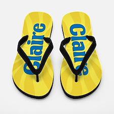 Claire Sunburst Flip Flops