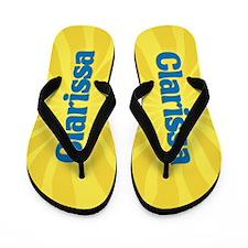 Clarissa Sunburst Flip Flops