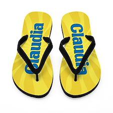 Claudia Sunburst Flip Flops