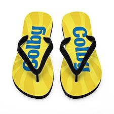 Colby Sunburst Flip Flops