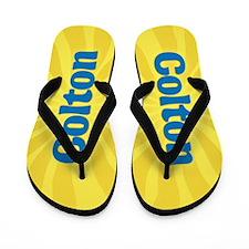 Colton Sunburst Flip Flops